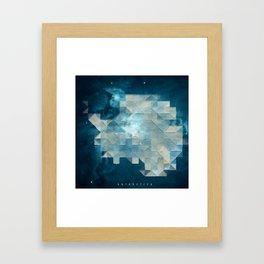 A N T A R C T I C A Framed Art Print