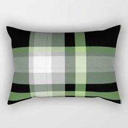 Aromantic Pride Tartan Plaid Pattern Rectangular Pillow