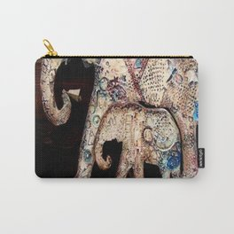 Mama Elephant and Baby by Mary Jo Hill Carry-All Pouch