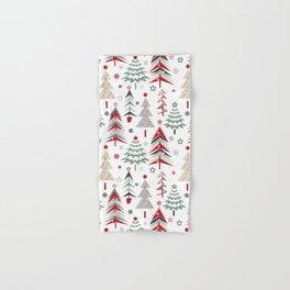 Fairy Christmas forest. Hand & Bath Towel