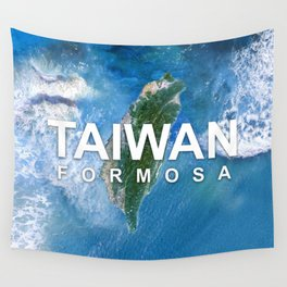 Discover Taiwan Wall Tapestry