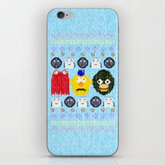Don't Hug Me I'm Sweater iPhone & iPod Skin