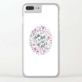 Own Who You Are Clear iPhone Case