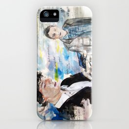 First Meeting iPhone Case