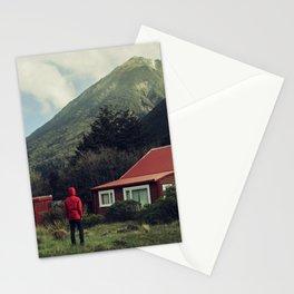 Red stalker hood! Stationery Cards