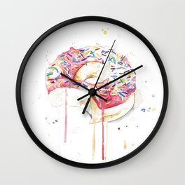 Donut. Wall Clock