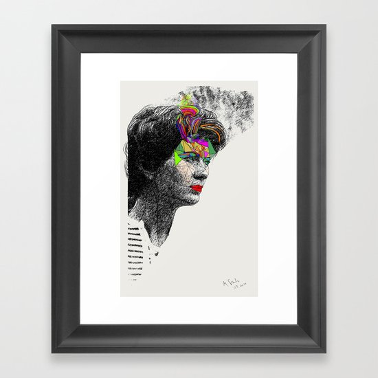 Mama Framed Art Print
