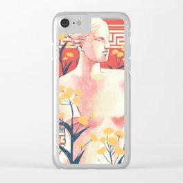 Silphium Clear iPhone Case