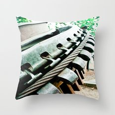 Remnant of Mt. Lowe Railway Throw Pillow