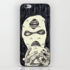 Mask 2 iPhone & iPod Skin