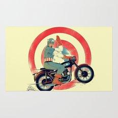 Cap Ride. Rug