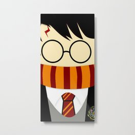 potter face Metal Print