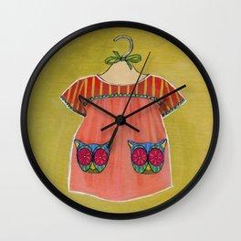 Avery Dress 01 Wall Clock