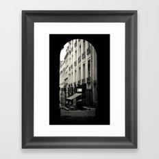 Parisian Doorway Framed Art Print