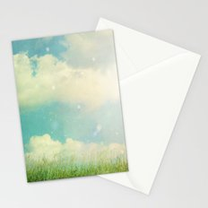 Field of Clouds Stationery Cards