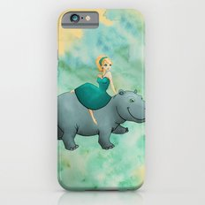 Lovely Hippo Slim Case iPhone 6