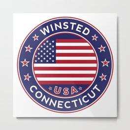 Winsted, Connecticut Metal Print