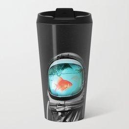 fish in astro helm Travel Mug