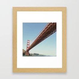 Going My Way In San Francisco Bay Framed Art Print