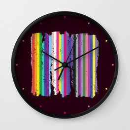 LGBTQ2 Pride Wall Clock