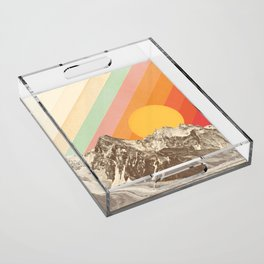 Mountainscape 1 Acrylic Tray