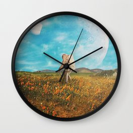 Landloping Wall Clock