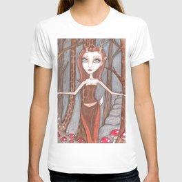 Red Deer fae T-shirt