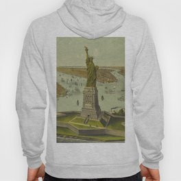 Currier & Ives. - Print c.1885 - Statue of Liberty 2 Hoody