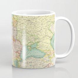 Vintage Map of Europe (1922) Coffee Mug