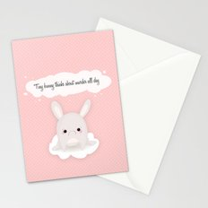 tiny bunny Stationery Cards
