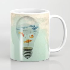 ideas and goldfish 02 Mug