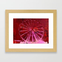Ferris Wheel (C) Framed Art Print