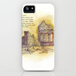 Builders - Psalm 127:1 iPhone Case