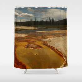 Geyer Colors Shower Curtain