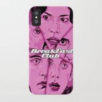 breakfast club iPhone & iPod Cases featuring Breakfast Club by David Amblard