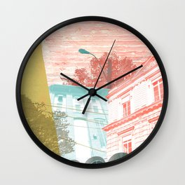 City exploring Wall Clock