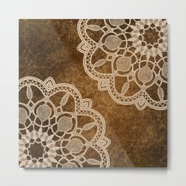 Coffee & Cream Metal Print