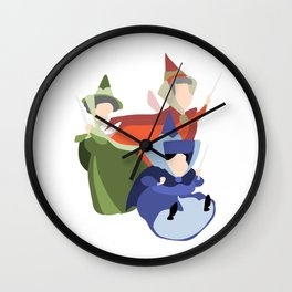 Flora, Fauna and Merryweather Wall Clock