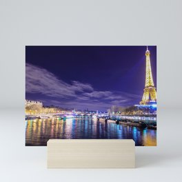 Paris Nights Mini Art Print