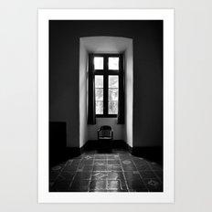 In Shadow Art Print