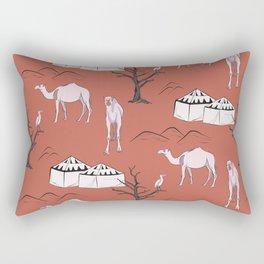 Sahara desert trip Rectangular Pillow