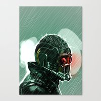 star lord Canvas Prints featuring Star-Lord by Luke Fisher