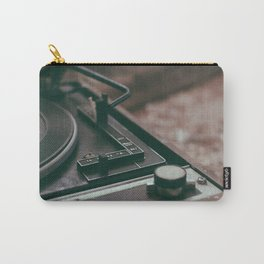 Vintage turntable Carry-All Pouch