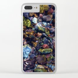 River Rock - The Country Life Clear iPhone Case