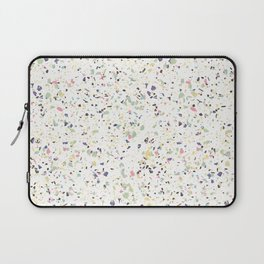 Classy vintage marble terrazzo pastel abstract design Laptop Sleeve