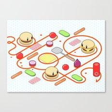 Tasty Visuals - Squeeze Me II Canvas Print