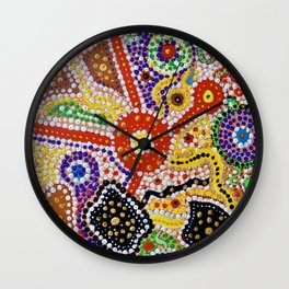 MY COUNTRY 3 Wall Clock