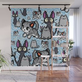 Cat and kitten Wall Mural