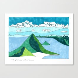 Nicaragua, Land of Lakes and Volcanoes Canvas Print