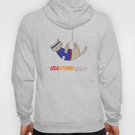 USA String - Home to Gobi and the Great Cat Athletes Hoody